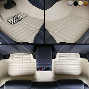 Car Floor Mats Front Rear Liner Auto Waterproof Mat For Ford Edge 2007 2013