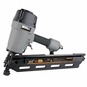 Frame Nailer Air Power Builder Tool Wall Deck Roof Wood Fence Pneumatic Gun New