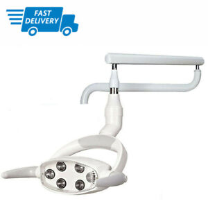 Cx249 7 Dental Led Oral Lamp Exam Light For Dental Unit Chair With Support Arm