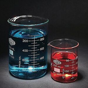 United Scientific Bg1000 10000 Borosilicate Glass Low Form Beaker New Free Ship