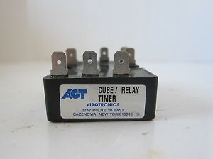 New Aot Cube Relay Timer Tgkad1060 060bb1sca0t 120vac 6a On off 6 60 Sec