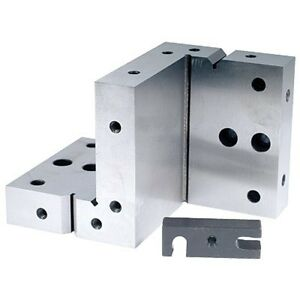 16 Hole Compound Angle Plate Includes 1 Clamp 3 Bolts new Ds