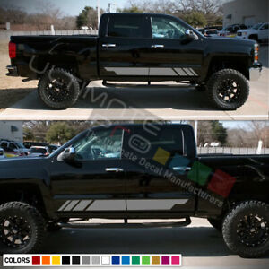 Decal Sticker Vinyl Stripe For Chevrolet Silverado Offroad 13 2014 2015 2016 Cub