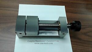 2 1 2 x7 Screw Type Tool Maker s Precision Vise W Screw Vise 705 212 New