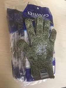 Safety Gloves Lot 10pairs Hand Gloves Cut Resistant 5 Grade Work Gloves