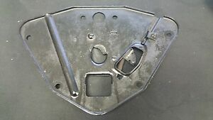 1942 1946 1947 1948 Plymouth P15 Hood Latch Base Plate Mopar Special Deluxe Rod