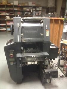 Heidelberg T Offset Press Model To