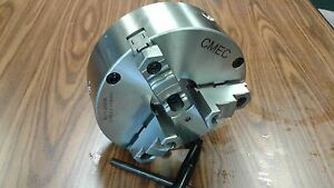 10 3 jaw Self centering Chuck Plain Back Front Mounting For Rotary Tables