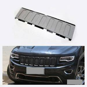 Black Front Mesh Grille Insert For Jeep Grand Cherokee 2011 2012 2013