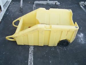 Enerpac 5300 ye Spill Containment Caddy Poly Dolly Barrel Drum Safety Cart