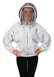 Humble Bee 311 xxl Polycotton Beekeeping Jacket With Fencing Veil