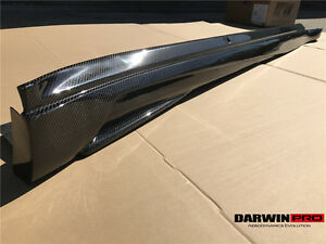 2014 2017 Panamera Arn Style Carbon Fiber Side Skirts Body Kit For Porsche
