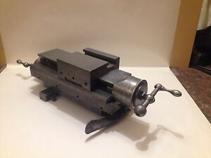 Hardinge Dovetail Lathe Cross Slide And Compound 1940s Dv59 Or Dsm59