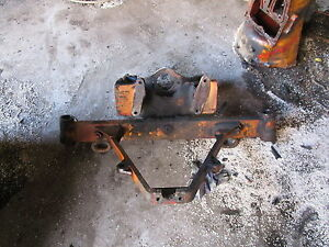 Case 580ck Front Axle Bolster Assy 580 Backhoe Loader 580b Ck