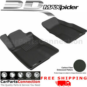 All Weather Floor Mats L1fr06511509 For Ford Mustang 05 09 Kagu Black Maxpider
