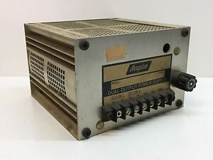 Acopian 9gt100d 12gt100d Dual Output 9v 12v Dc Power Supply Transformer 1a