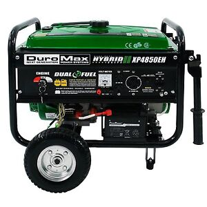 Portable Propane Gas Power Generator 3850w Emergency Electric Backup Camping Rv