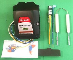 Beckett Powerlight Adc Oil Burner 12 Volt Transformer And Electrode Kit 5218301u