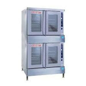 Blodgett Bdo 100g es Dbl Bdo g Full size Gas Value Convection Oven Double Stack