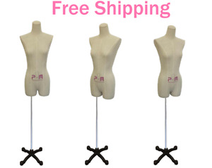 Female Lingerie Dress Form Display Mannequin Garment Clothing Display 602f