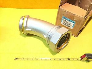 new Cooper Crouse Hinds Ltb40045 4 Sealtite Liquidtight 45 Degree Connector