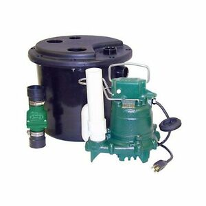 Electric Sump Pump 115v Drain Laundry Tray Dishwasher Water Remo