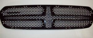 2014 2016 Dodge Durango Low Gloss Black Honeycomb Front Grille Insert 5113713ab