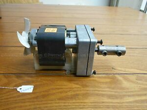 Dayton 1mbg7 Gear Motor 3 3lb in 37nm Torque 368 Rpm 1 Ph 15v 60hz 1 4a