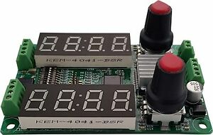 Stepper Motor Controller 3a 36v With Manual Serial Analog And Stepclock In