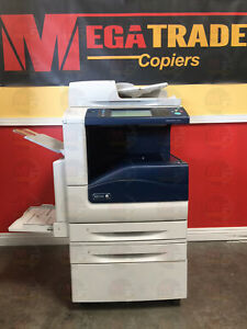 Xerox 7530 Workcentre Color Laser Mfp Copier Printer Scanner Less 100k Meter