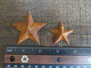 50 Pc Lot Rusty Stars 25 2 25 25 1 5 Primtive Country Metal Barn Stars Tin