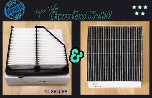 Carbonized Cabin Engine Air Filter Set For 2016 2020 Honda Hrv Hr v