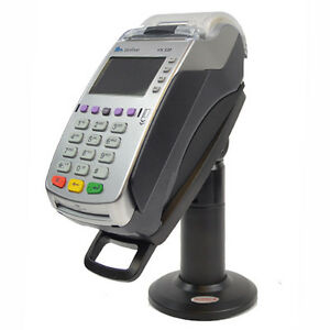 Credit Card Stand For Verifone Vx520 49mm Flexi 7 Tall Complete Kit