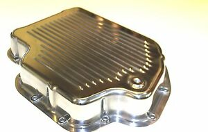 Turbo 400 Alloy Transmission Pan Highly Polished With Bolts Sbc Chev Engine