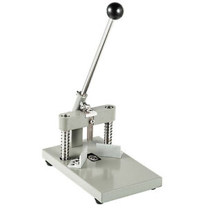 Manual Paper Corner Rounder Cutter R6 R10 Aluminum All Metal Cutting Stack