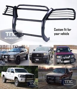 2003 2009 Toyota 4runner Grill Brush Guard Bumper Bar Black Powder Coat