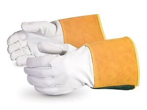 Superior 370ctig Precision Arc Goatskin Leather Tig Welder Glove Work Small