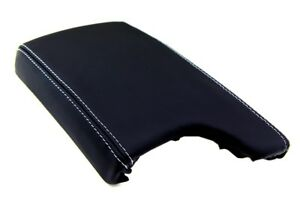 Console Armrest Leather Synthetic Cover For Pontiac Grand Prix 04 08 Gray Stitch
