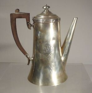 Antique Vintage Sterling Silver Colonial Style Teapot Meriden Brittannia Tea Set