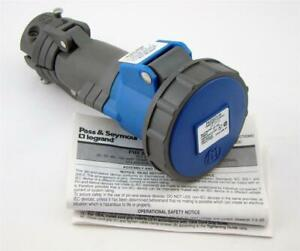 Pass Seymous Legrand 20a 250vac 2p 3w Pin Sleeve Connector Ps320c6 w