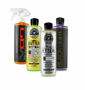 Chemical Guys Detailer s Essential Car Care Products Kit 4 Items 16 Oz