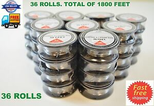 36 Rolls 1800 Ft 22 Gauge Awg A1 Kanthal Round Wire 0 64mm Resistance A 1