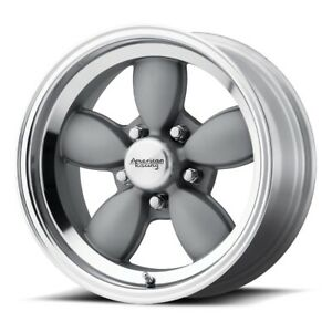 American Racing Vn504 Rim 17x7 5x4 75 Offset 0 Mag Gray Mirror Lip Qty Of 1