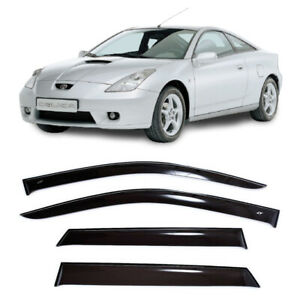 For Toyota Celica T230 1999 2006 Window Visors Sun Rain Guard Vent Deflectors