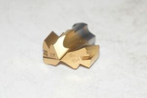 New Ingersoll Gold 1 25 4mm Replaceable Carbide Indexable Drill Tip Tpa2540r01