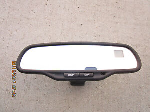 02 06 Chevy Silverado Gmc Sierra Rear View Mirror Compass Temperature 15176975