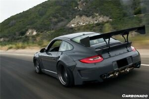 2009 2012 Carrera 911 997 Turbo Dp Style Carbon Fiber Spoiler For Porsche