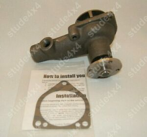 Studebaker Early Champion Six Water Pump 169 185 1942 58 682630