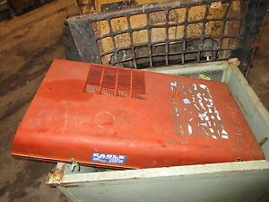Ditch Witch 3500 Hood Cover Trencher Deutz Cable Plow