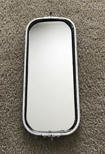 Vintage Heavy Duty Large Rectangular Side Mirror 16 X 7